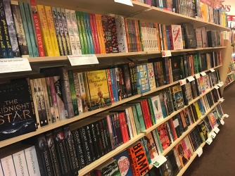 One side of the YA Section
